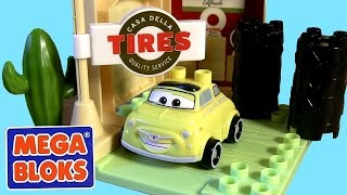 Mega Bloks Cars Luigi's Garage Casa Della Tires 7788 Building Toys Disney Pixar By Toy Collector