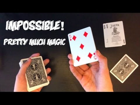 Magical Mistake Another Original Card Trick Tutorial