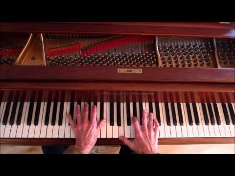 """All The Things You Are"", Chord Substitution and Improvisation, Jazz Piano Tutorial"
