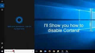 disable cortana and get search box search icon back windows 10 update group policy
