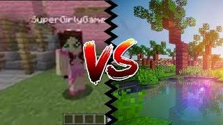 Minecraft 4K vs. 144p