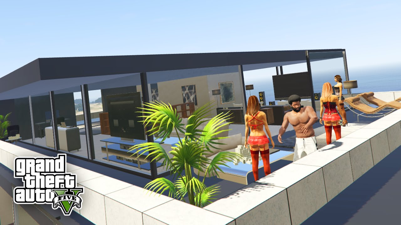 die sch nsten h user in gta 5 live icrimax youtube. Black Bedroom Furniture Sets. Home Design Ideas