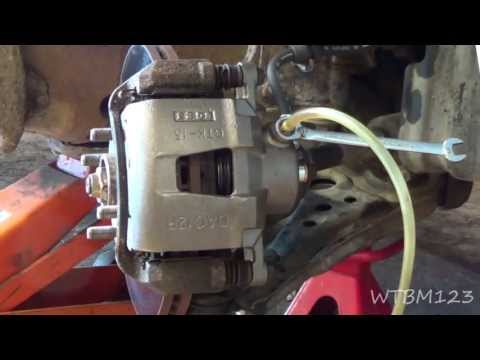 Stuck Brake Caliper or Bad Rubber Brake Line