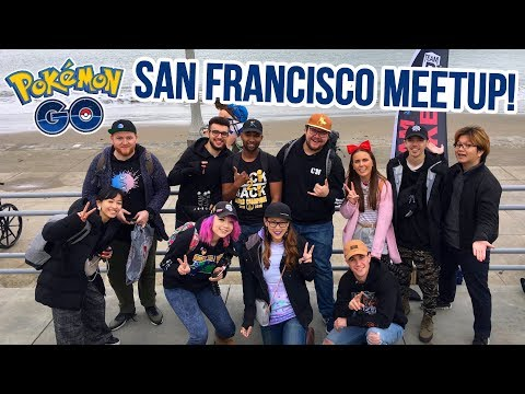 RAIDS/TRADES & BESTIES @ San Francisco Pokémon GO YouTuber Meetup! thumbnail