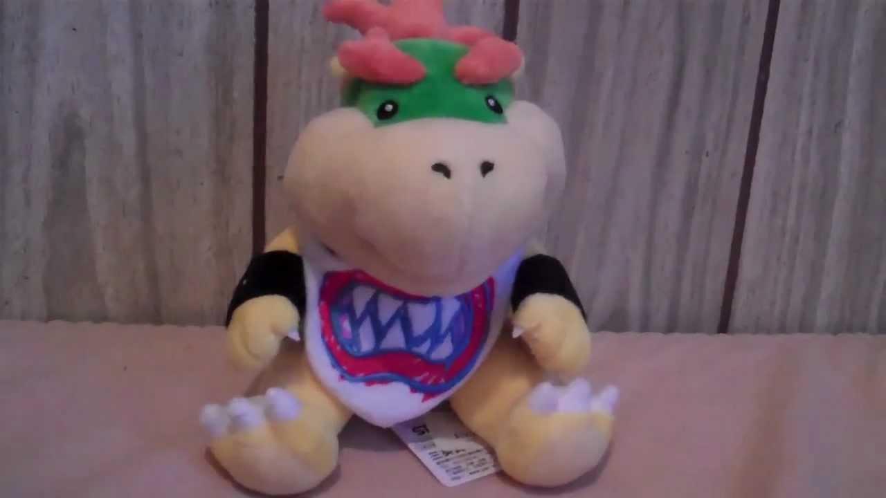 Bowser Jr Plush Review