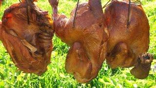 Копчение курицы в домашних условиях. Домашние копчености