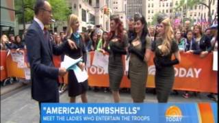 The Today Show features The American Bombshells
