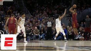 Rodney Hood shows why Cavs traded for him with clutch and-one bucket vs. Nets | ESPN