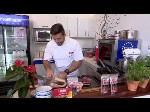 Kombuis  Chef Dino  Kourambiethes  8 Sept 2015