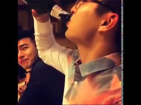 [FC HLC - KTN ]- Khổng Thùy Nam ngẩn ngờ nhìn Hoàng Lễ Cách uống rượu kinh hồn