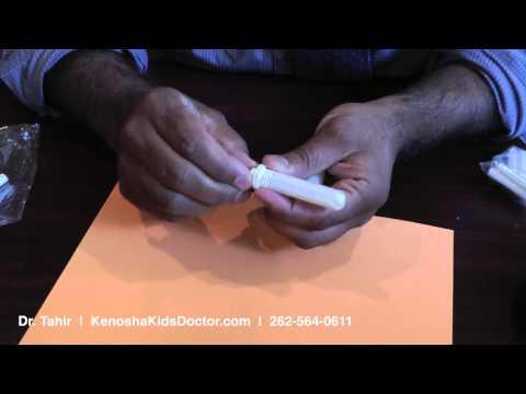 Making a Nasal Vapor Inhaler for Essential Oils