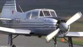 Yak 18T maneuvers