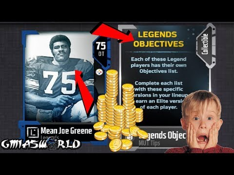 Madden 18 Tips: HOW TO MAKE COINS AND GET AN ELITE MEAN JOE GREEN LEGEND In MUT 18 Gameplay!