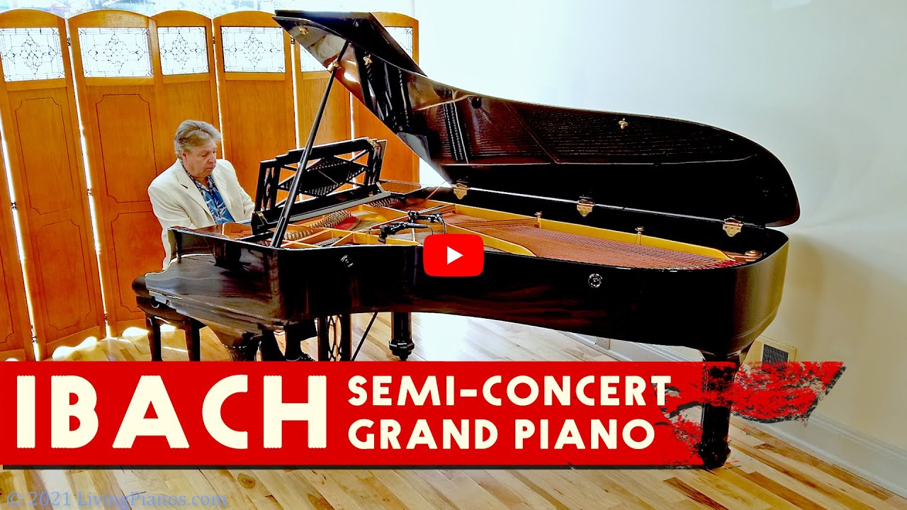 Download Ibach Semi-Concert Grand Piano - Living Pianos
