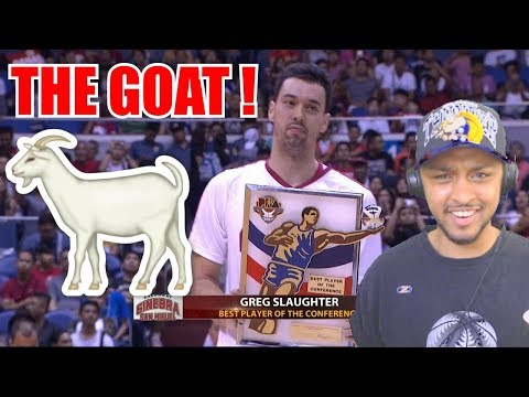 HE WILL BE MVP THIS YEAR!! GREG SLAUGHTER PLAYER OF THE WEEK HIGHLIGHT REACTIONS