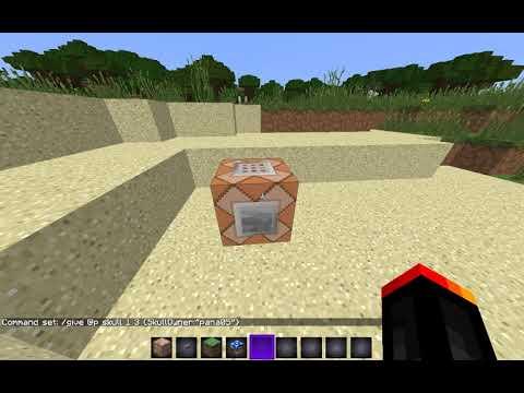 Deinen Eigenen Kopf In Minecraft Bekommen Minecraft Tutorial - Minecraft spielerkopfe geben