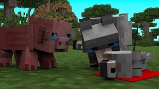 Wolf Life 3 - Minecraft Animation