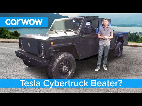 Is this a Tesla Cybertruck killer? The crazy new £100K Bollinger EV Pickup.