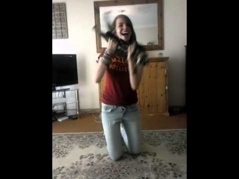 dancing to chinese music with a cat
