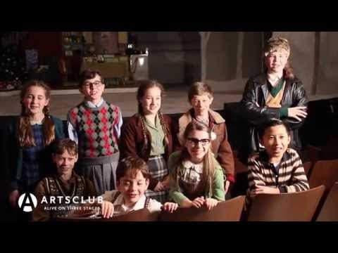 Arts Club Theatre Company's A CHRISTMAS STORY, THE MUSICAL - Kids Interviews
