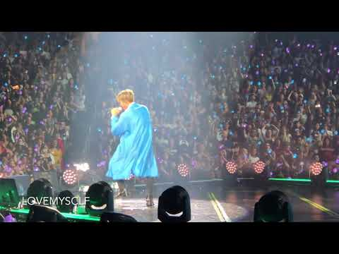 180906 Trivia 承 NAMJOON FOCUS @ BTS 방탄소년단 Love Yourself Tour In LA Fancam