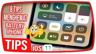 8 TIPS Menghemat Batre di iPhone Anda - IOS 11 Tips Indonesia