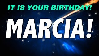 HAPPY BIRTHDAY MARCIA! This is your gift.