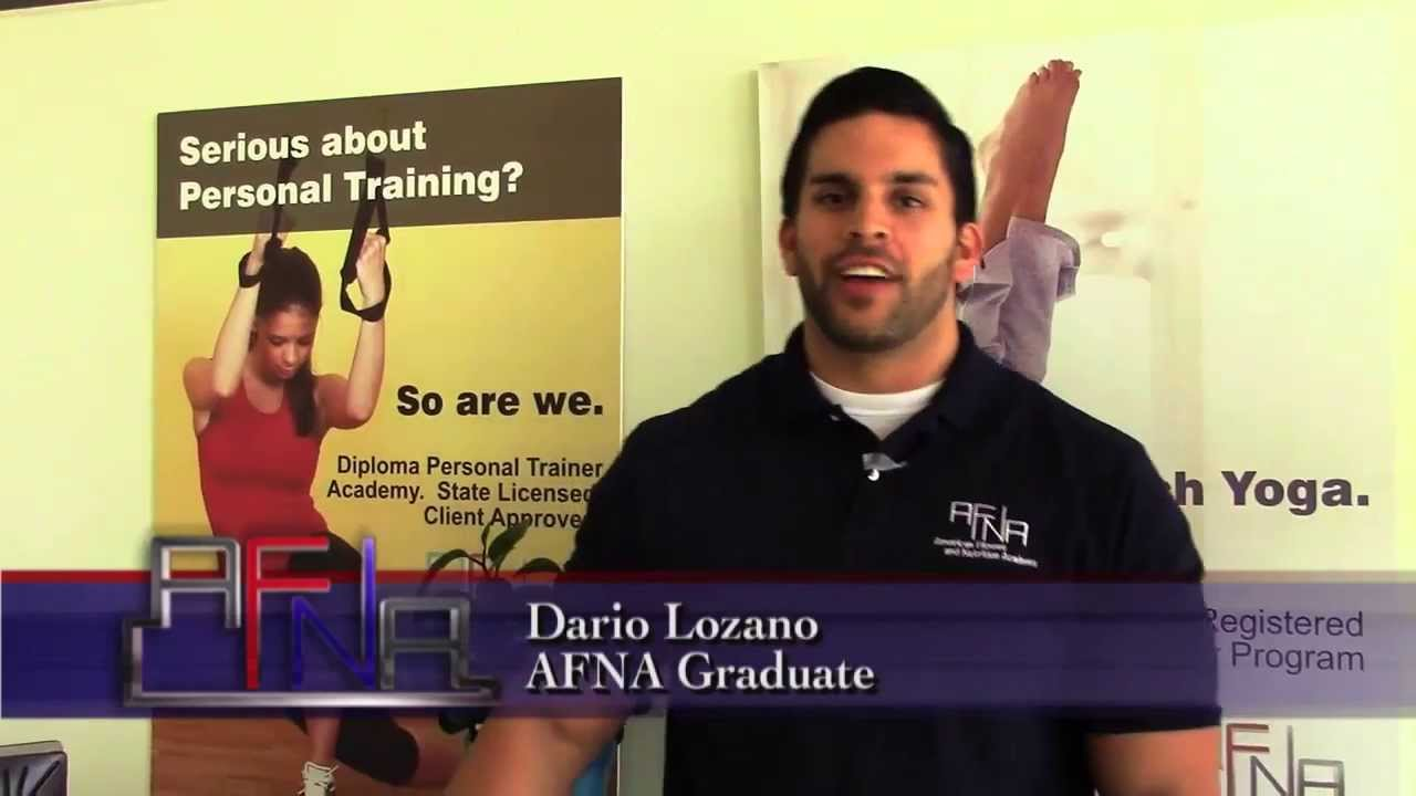 Personal trainer certification testimonial afna youtube personal trainer certification testimonial afna xflitez Gallery