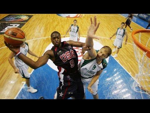 USA vs Slovenia 2006 FIBA World Basketball Championship Group Game FULL GAME English
