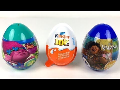 how to open a kinder joy egg