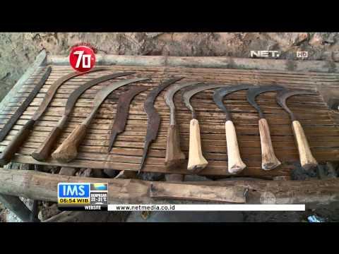 Pembuatan Celurit Madura - IMS