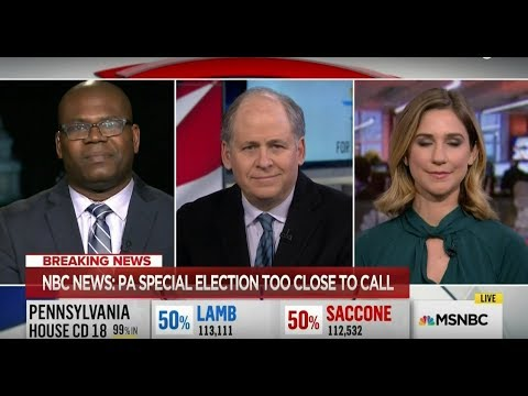 Dr. Jason Johnson on #PA18 #ElectionResults and its Effect on #GOP vs #Democrats