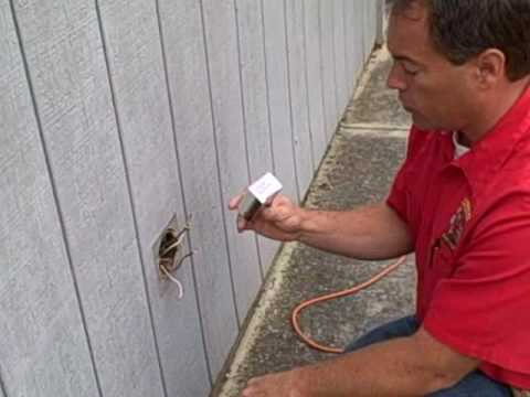Replace Outdoor Electrical Plug and Cover - YouTube