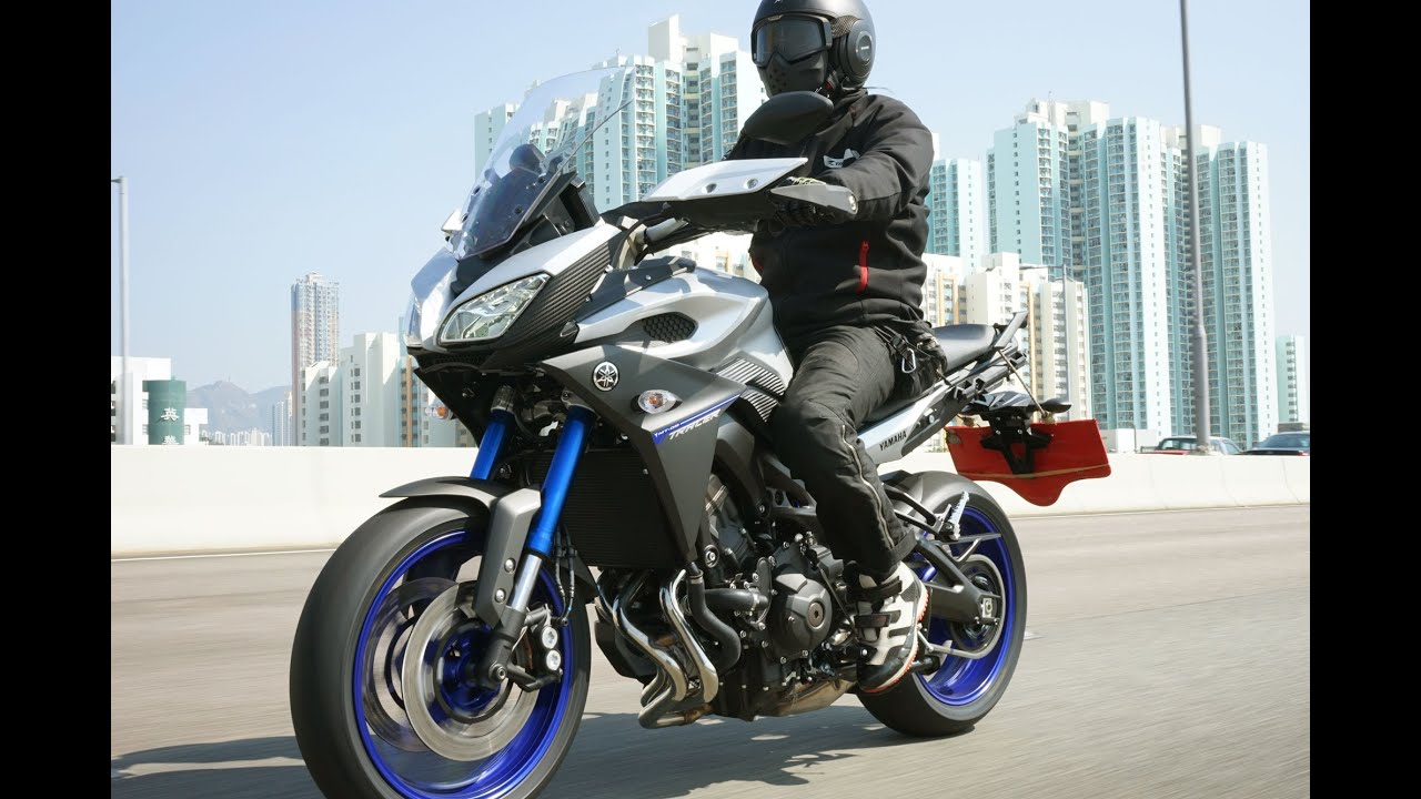 2015 yamaha mt 09 tracer ������� youtube
