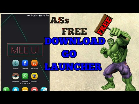How To Download Go Launcher Paid Version In Free In Your Android || Full Tutorial  || By Theandrokin