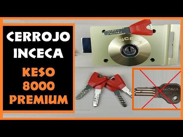 CERRADURA INCECA + KESO 8000 PREMIUM [ADAPTACION PARA INCECA] TU CERRAJERO DS