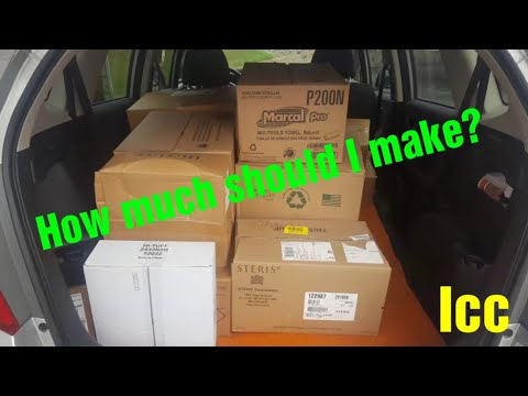 How Much Should I Make? Independent Contractor/courier