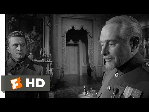 Paths of Glory (9/11) Movie CLIP - Your Men Died Very Well (1957) HD
