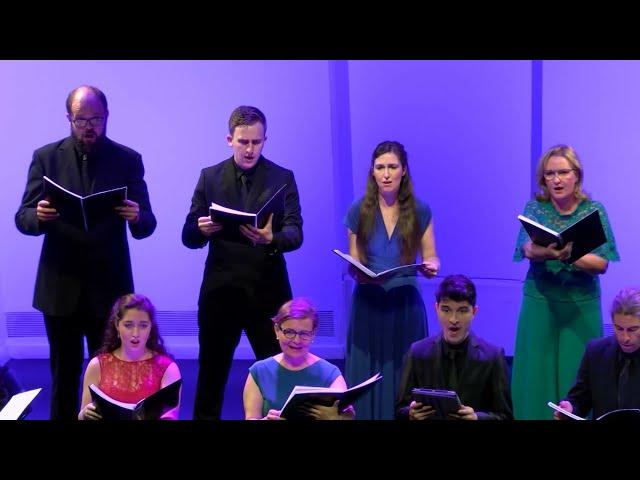 Water Night, E. Whitacre. Coro de la Universidad Carlos III de Madrid. Dir. Nuria Fernández Herranz.