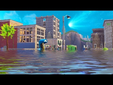 TILTED TOWERS IS NOW FLOODED! WTF! (Fortnite Funny Fails and WTF Moments) #2