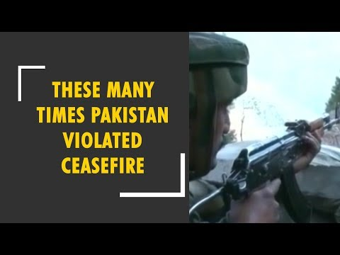 Government releases the list of ceasefire violations by Pakistan