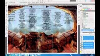 "making of... KATAKLYSM ""the mystical gate of reincarnation"" LP-COVER"