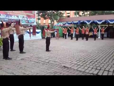 Tari Tao Toba Oleh Koramil 11/Tanjung Beringin Kodim 0204/Deli Serdang