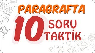 Paragrafta 10 Soru 10 Taktik