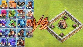 ÇOKLU HAVAN vs TÜM BİRLİKLER !! | Clash Of Clans