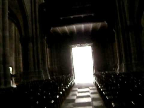 Interior, Gothic Church, Selestat, Alsace, France -- Chat About