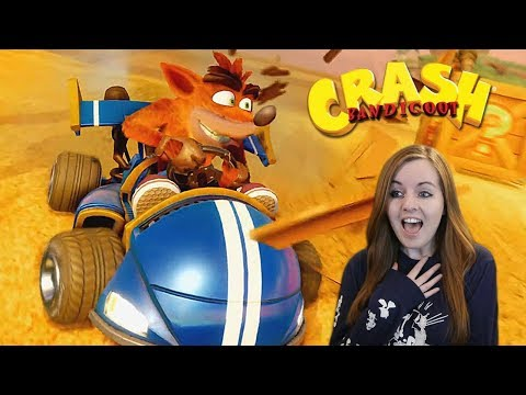 OMG OMG OMG!   Crash Team Racing Nitro-Fueled Reveal Trailer Reaction!