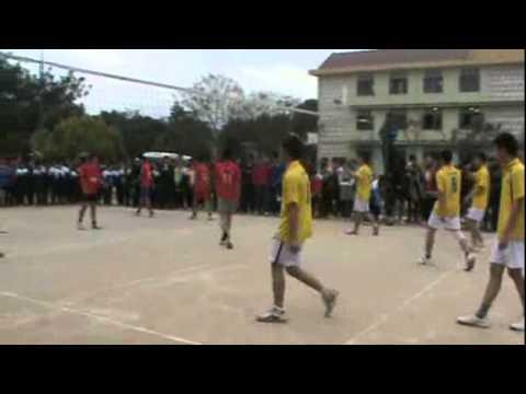 Bán kết Bóng chuyền HKPĐ 2012 : Bắc Hà vs Nội trú tỉnh