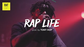 (free) 90s Old School Boom Bap type beat x hip hop instrumental | 'Rap Life' prod. by TONY HOP Video