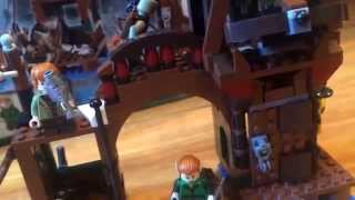 Lego The Hobbit 79016 Attack On Lake-town Review In Hand!!!!!